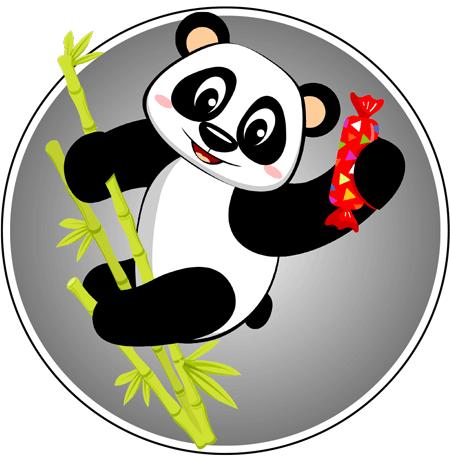 Panda Sweets Mascot