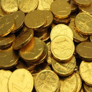 Milk Chocolate Coins Retro Sweets
