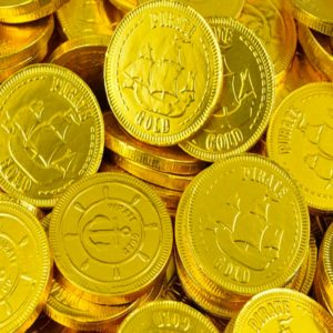 Milk Chocolate Pirates Coins Retro Sweets