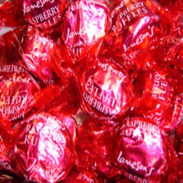 Jamesons Raspberry Ruffles Retro Sweets