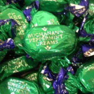 Buchanans Chocolate Peppermint Creams Retro Sweets