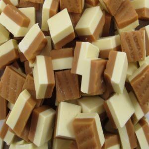 Banana And Toffee Duo Fudge Retro Sweets