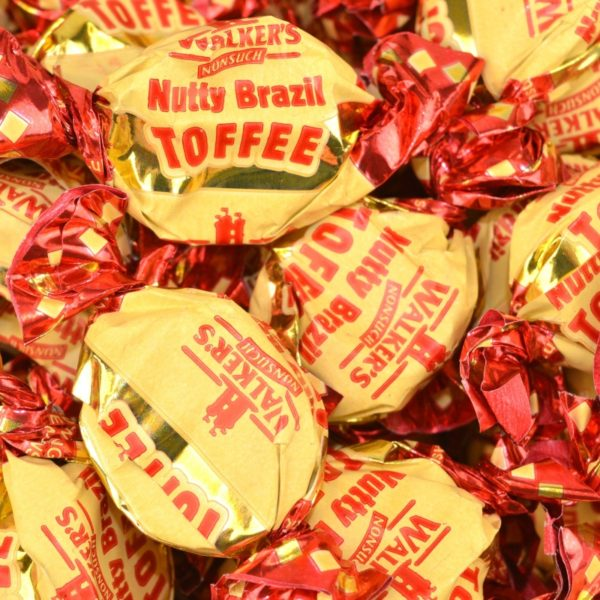 Walkers Nonsuch Nutty Brazil Toffee Retro Sweets
