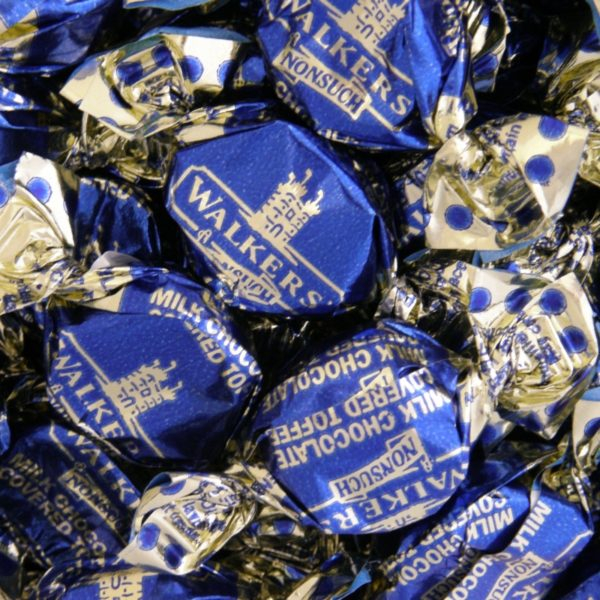 Walkers Nonsuch Milk Chocolate Covered Toffee Retro Sweets