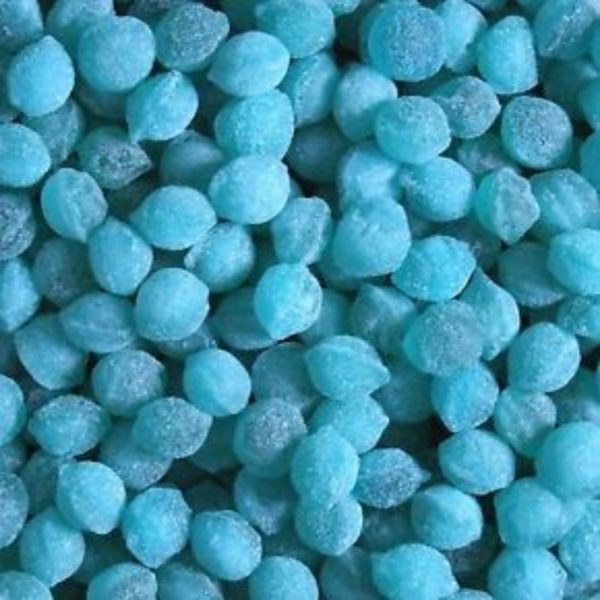 Blue Raspberry Pips Retro Sweets