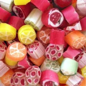 Fruit Rock Retro Sweets