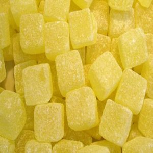 Pineapple Cubes Or Chunks Retro Sweets