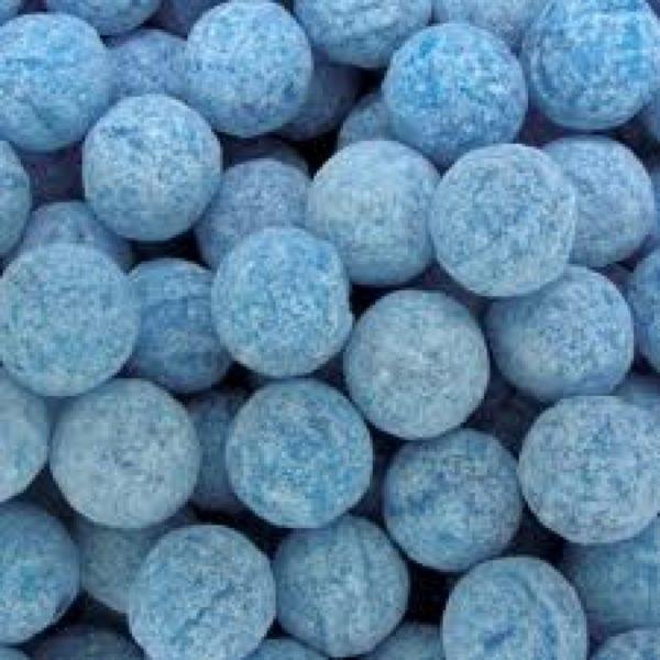 Raspberry Fizz Balls Retro Sweets