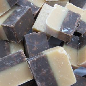 Chocolate And Vanilla Fudge Retro Sweets