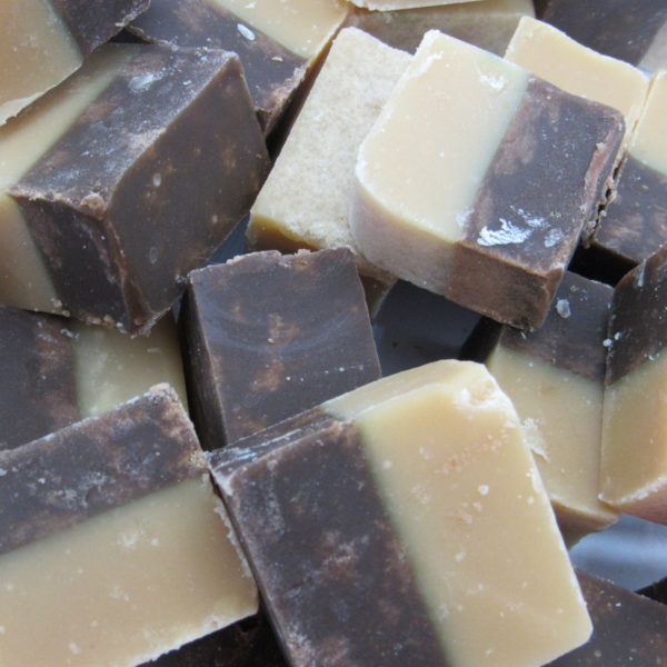 Chocolate And Vanilla Fudge Retro Sweets