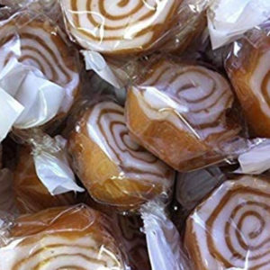 Toffee Whirls Retro Sweets