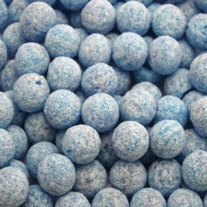 Blue Raspberry Fizz Balls Retro Sweets