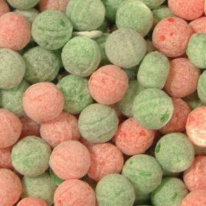 Watermelon & Apple Fizz Balls Retro Sweets