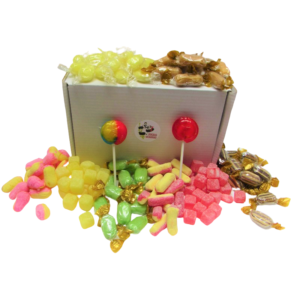 Boiled Sweet Gift Box of Retro Sweets