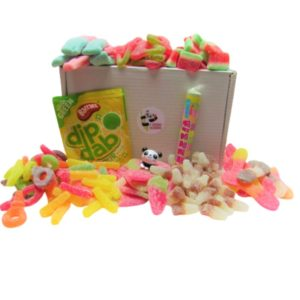 Fizzy Sweet Gift Box of Retro Sweets