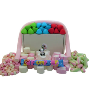 Marshmallow Sweet Gift Box of Retro Sweets