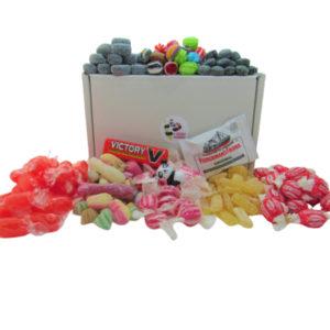 Herbal Sweet Gift Box of British Retro Sweets