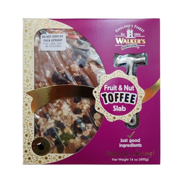 Walkers Nonsuch Fruit and Nut Toffee Slab Retro Sweets