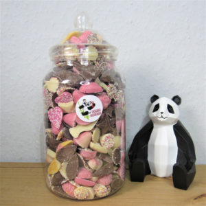 Extra Large Chocolate Candy Sweet Jar Retro Sweets