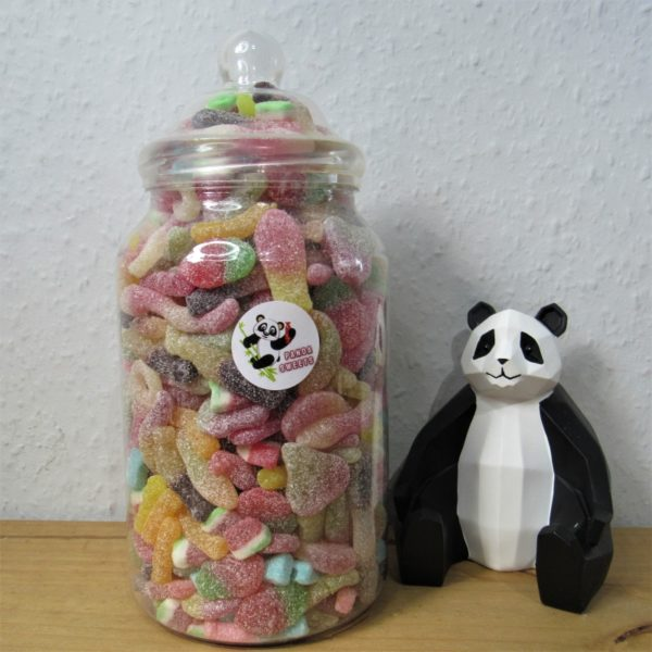 Extra Large Fizzy Jelly Sweet Jar Retro Sweets