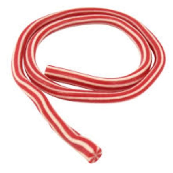 Giant Red and White Cable Retro Sweet