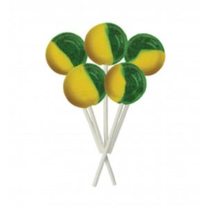 Apple and Custard Joseph Dobson Mega Lollipop Retro Sweets