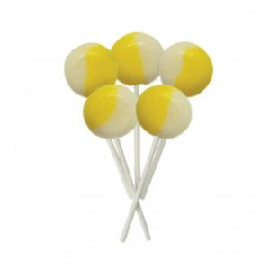 Lemon Meringue Joseph Dobson Mega Lollipop Retro Sweets