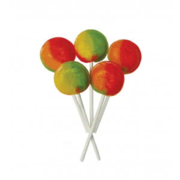 Tropical Fruit Joseph Dobson Mega Lollipop Retro Sweets