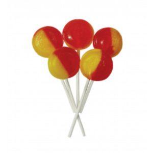 Rhubarb and Custard Joseph Dobson Mega Lollipop Retro Sweets