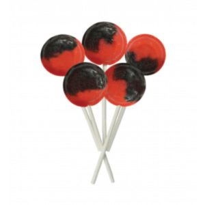 Strawberry Split Joseph Dobson Mega Lollipop Retro Sweets