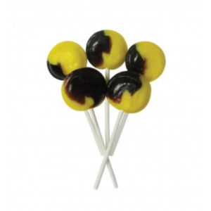 Banana Split Joseph Dobson Mega Lollipop Retro Sweets