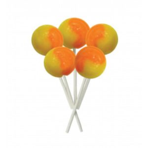 Orange and Lemon Joseph Dobson Mega Lollipop Retro Sweet