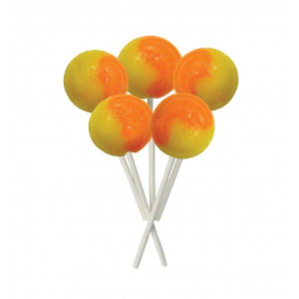 Orange and Lemon Joseph Dobson Mega Lollipop Retro Sweet