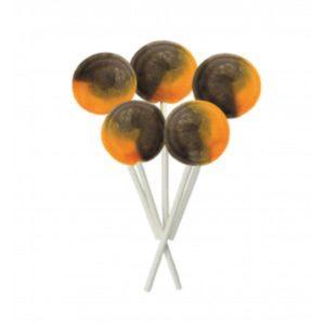 Chocolate Orange Joseph Dobson Mega Lollipop Retro Sweet