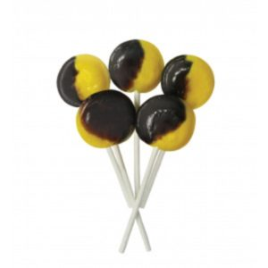 Caramel and Custard Joseph Dobson Mega Lollipop Retro Sweets