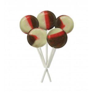 Neopolitan Joseph Dobson Mega Lollipop Retro Sweet