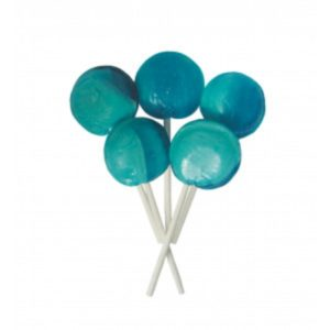 Blue Raspberry Joseph Dobson Mega Lollipop Retro Sweet