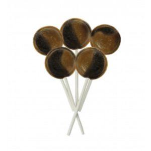 Peanut Butter Joseph Dobson Mega Lollipop Retro Sweets