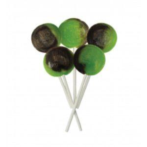 Chocolate Lime Joseph Dobson Mega Lollipop Retro Sweets