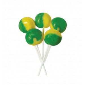 Lemon and Lime Joseph Dobson Mega Lollipop Retro Sweet