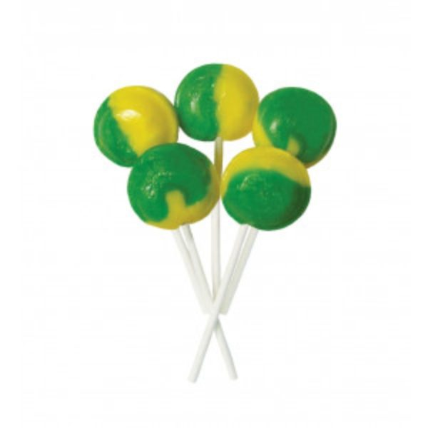 Lemon and Lime Joseph Dobson Mega Lollipop Retro Sweets