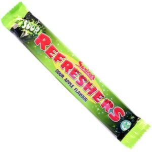 Swizzels Sour Apple Refreshers Chew Bar Retro Sweets