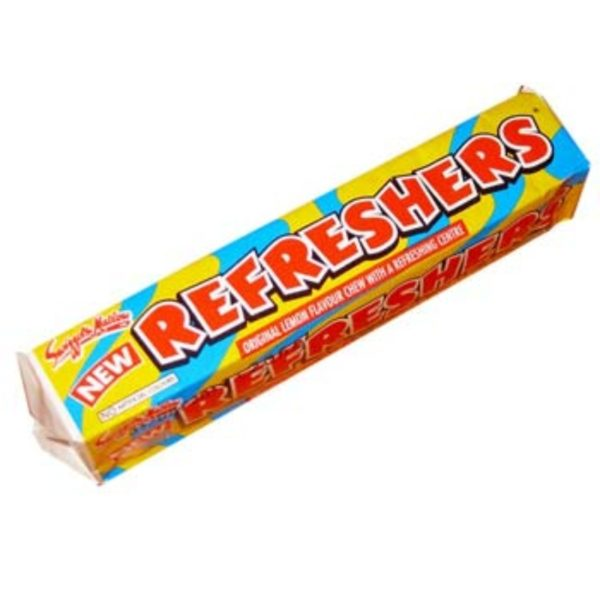 Swizzels Original Lemon Refreshers Stick Pack Retro Sweets