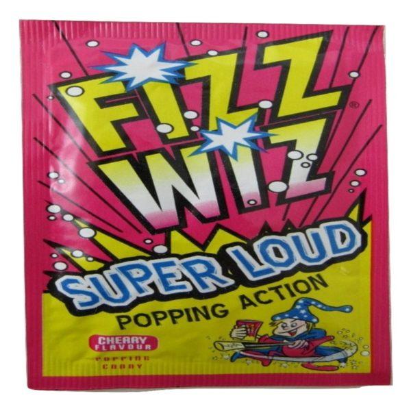 Cherry Fizz Wiz Popping Candy Retro Sweets