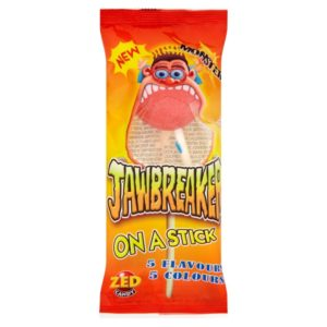 ZED Candy Monster Jawbreaker on a Stick Retro Sweets