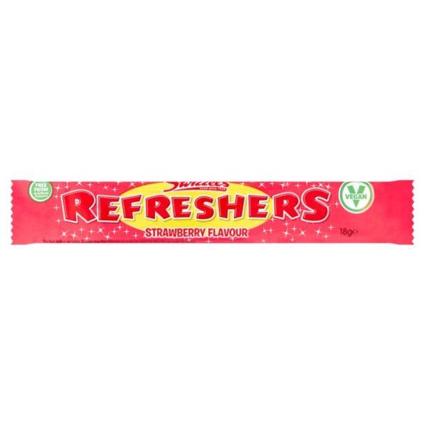 Swizzels Strawberry Refreshers Chew Bar Retro Sweets