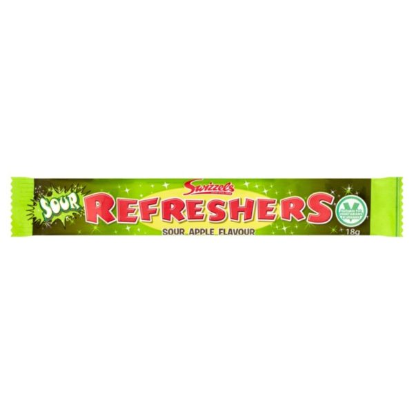 Swizzels Sour Apple Refreshers Chew Bar