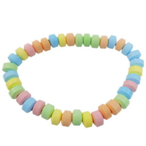 Candy Necklace Retro Sweets