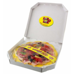 Giant Jelly Sweet Pizza Retro Sweets