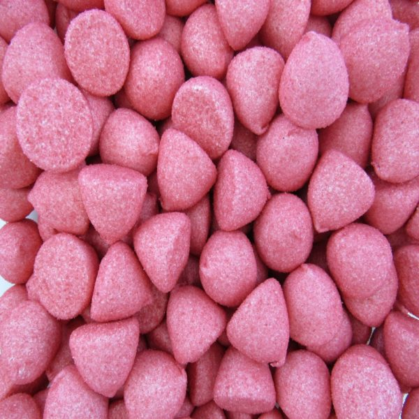 Red Marshmallow Paintballs Retro Sweets